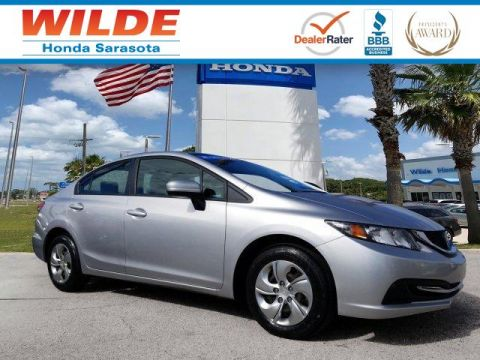 Certified Pre-Owned 2015 Honda Civic LX 4dr Car