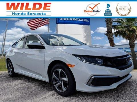 New 2019 Honda Civic LX 4dr Car
