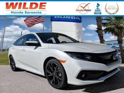 New 2019 Honda Civic Sport 4dr Car