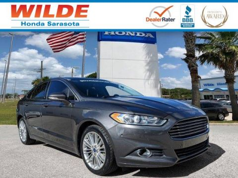 Pre-Owned 2015 Ford Fusion SE 4dr Car