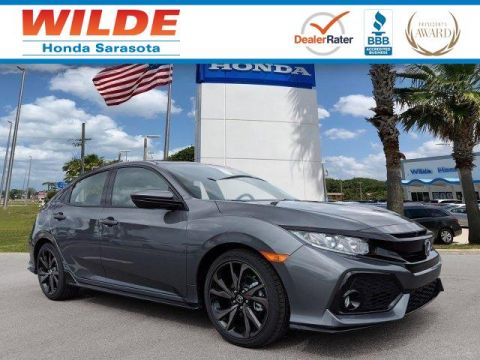 New 2018 Honda Civic Sport 4dr Car
