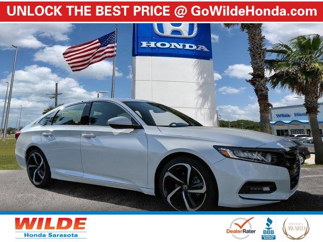 New 2020 Honda Accord Sedan Sport 1.5T