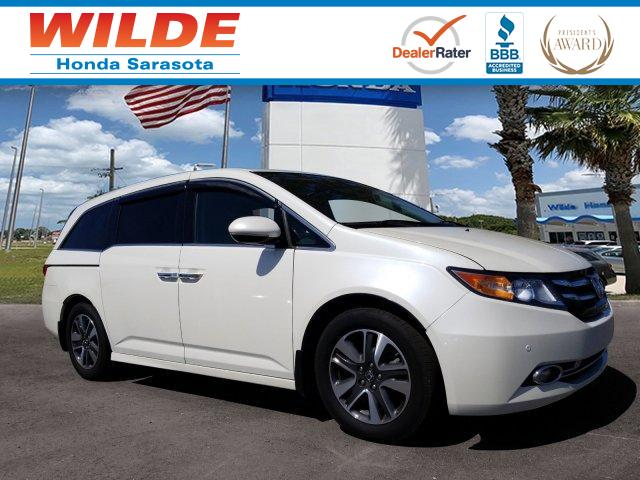 Certified Pre Owned 2016 Honda Odyssey Touring Elite