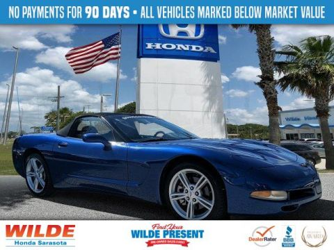 Pre-Owned 2002 Chevrolet Corvette