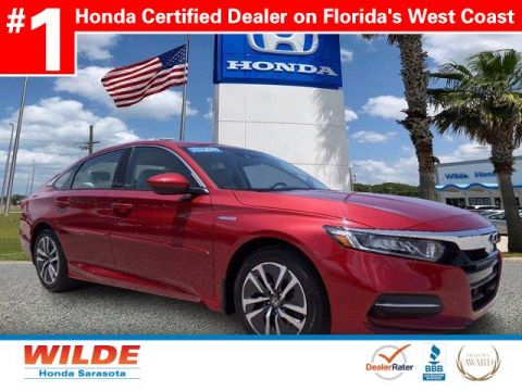 Certified Pre-Owned 2019 Honda Accord Hybrid