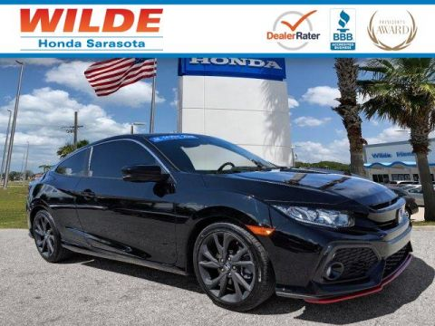 Certified Pre-Owned 2018 Honda Civic Si Coupe