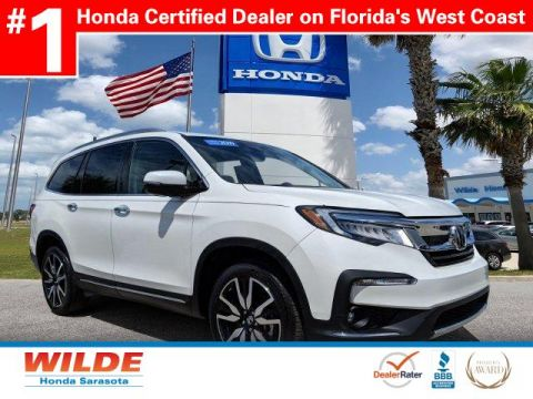 Certified Pre-Owned 2019 Honda Pilot Elite